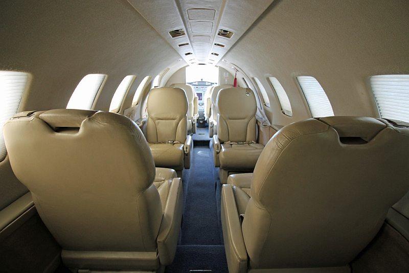Cessna 550 Citation Bravo Heliflightspain